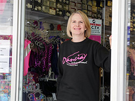 Jude Chapman, owner of Dancia Crowthorne
