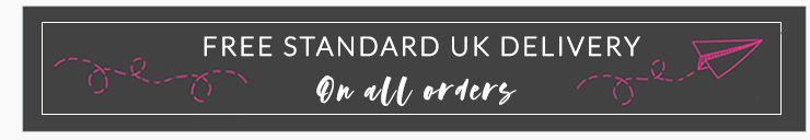Free standard UK shipping on all orders