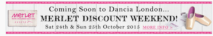 Coming soon to Dancia London... Merlet Discount Weekend! Sat 24th & Sun 25th October 2015. Get 10% off all Merlet shoes and much more!