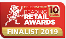 Winner - The Reading Retail Awards 2019