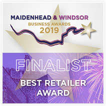 Maidenhead and Windsor Business Awards 2019 Finalist: Best Retailer Award