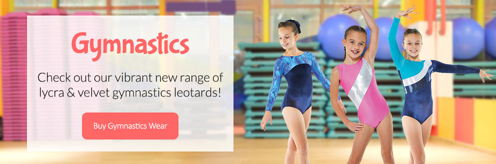 Check out our vibrant new range of lycra, velvet and foil gymnastics leotards!