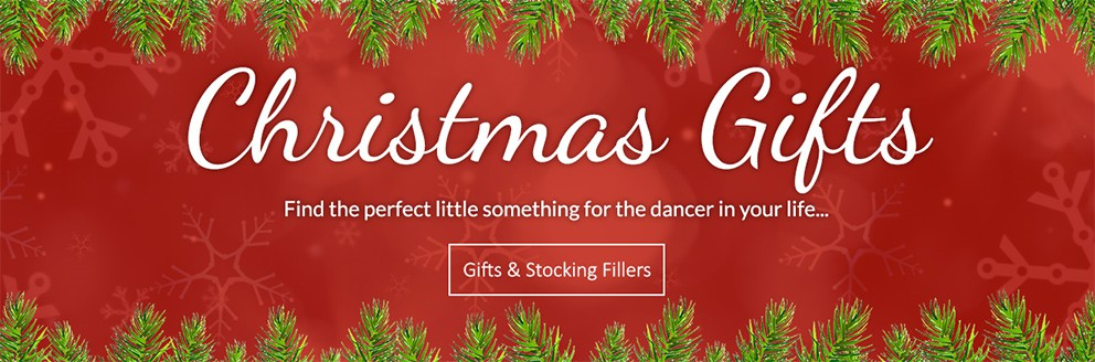 Gifts & stocking fillers. Find the perfect little something for the dancer in your life...