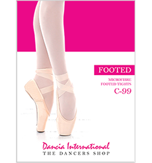 DANCIA FOOTED BALLET TIGHTS - C-99