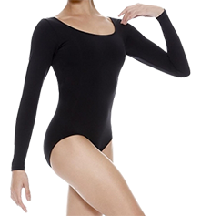 SO DANCA LONG-SLEEVED LEOTARD - RDE-8004